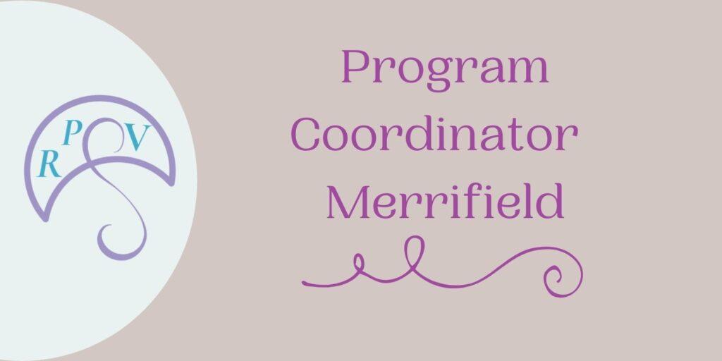 Program Coordinator Merrifield